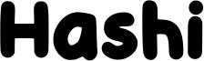 Hashi Font