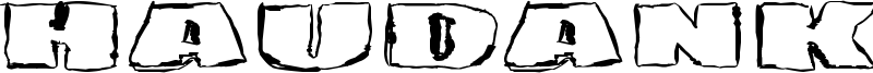 Haudankorva Font