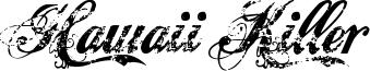 Hawaii Killer Font