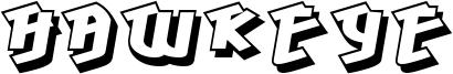 Hawkeye Font