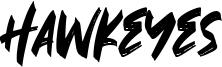 Hawkeyes Font