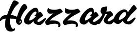 Hazzard Font