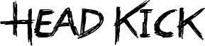 Head Kick Font