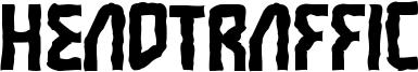 Headtraffic Font