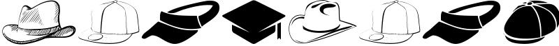 HeadWear Font