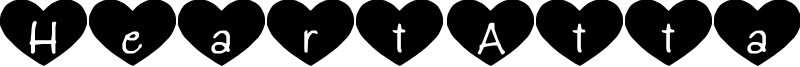 Heart Attack Font