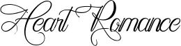 Heart Romance Font