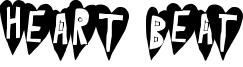 Heart Beat Font