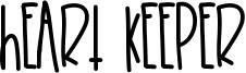 Heart Keeper Font
