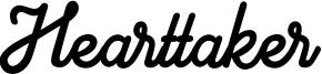 Hearttaker Font