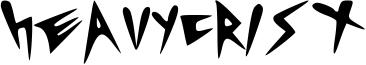 Heavycrist Font