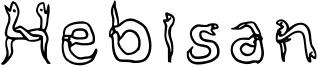 Hebisan Font