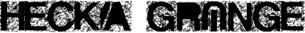 Hecka Grunge Font