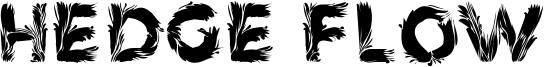 Hedge Flow Font