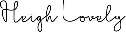 Heigh Lovely Font
