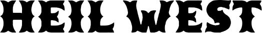 Heil West Font