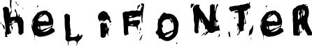 Helifonter Font