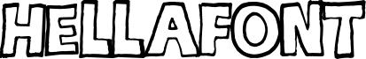 hellafont Font