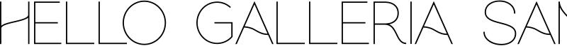 Hello Galleria Sans Font
