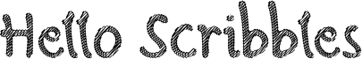 Hello Scribbles Font