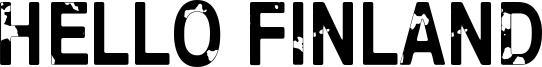 Hello Finland Font