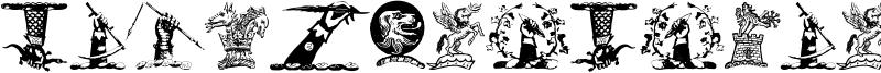 Helmbusch Crest Symbols Font