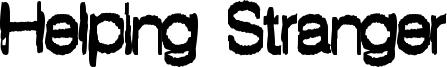 Helping Stranger Font