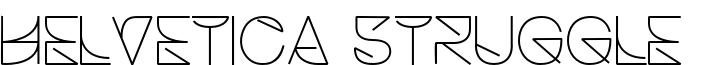 HelveticaStruggleLight.otf