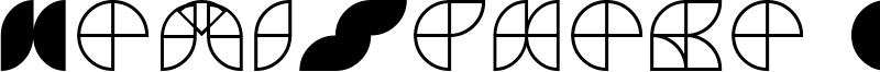 HemiSphere GRF Font