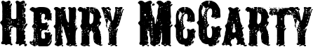 Henry McCarty Font