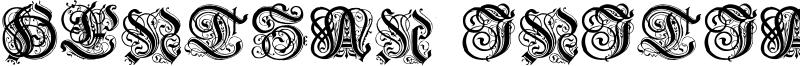 Hentzau Initials Font