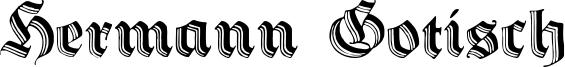 Hermann Gotisch Font
