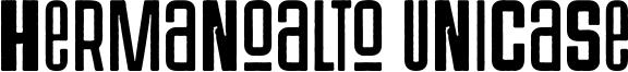 Hermanoalto Unicase Font