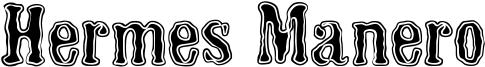 Hermes Manero Font
