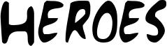 Heroes Font