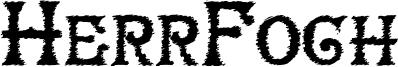 HerrFoch Font