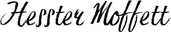 Hesster Moffett Font