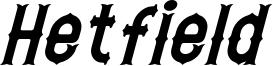 Hetfield Italic.otf