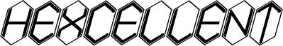 Hexcellent Font