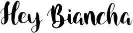 Hey Biancha Font