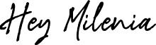 Hey Milenia Font