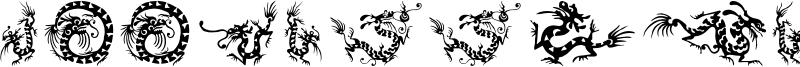 HFF Chinese Dragon.otf