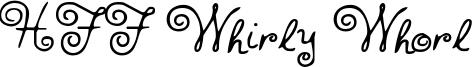 HFF Whirly Whorl.otf