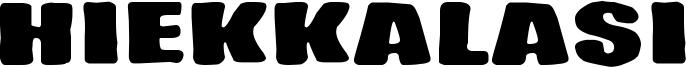 Hiekkalasi Font