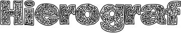 Hierograf Font