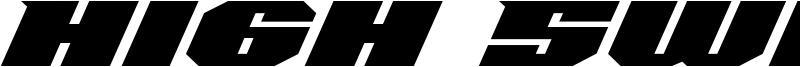 High Swift Font