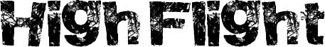 High Flight Font