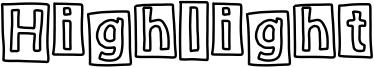 Highlight Font