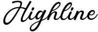 Highline Font