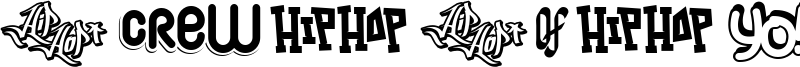 Hip Hop Lab 1 Font